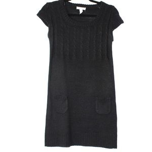 Ambiance Apparel black sweater dress